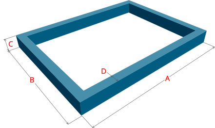 онлайн калькулятор количества бетона на ленточный фундамент